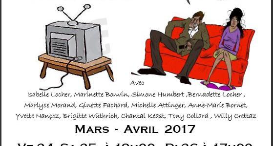 L'atelier théâtre  Sous la conduite de notre metteur en scène Pierre-Pascal Nanchen, nous avons le plaisir de vous convier à notre prochain spectacle. Moi je crois pas ! Des […]