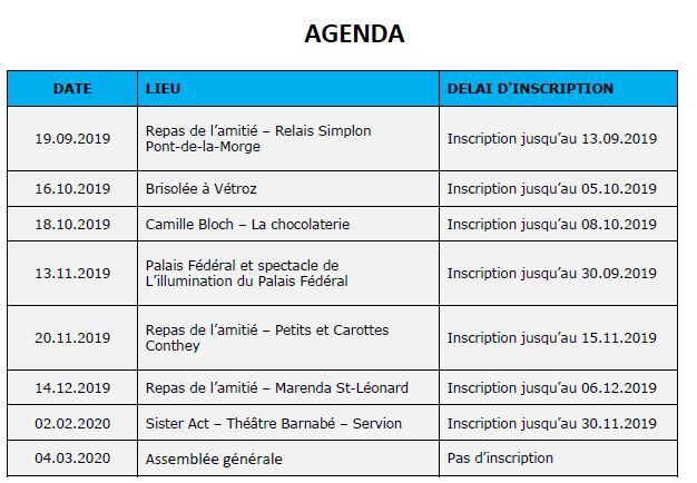 Agenda 62